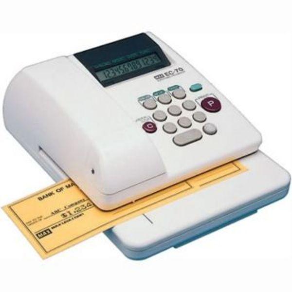electronic check writing machine